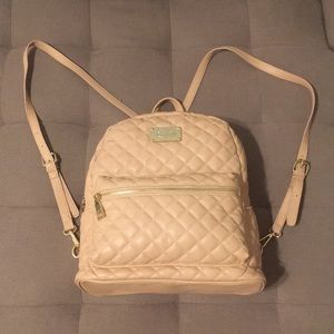 Bebe Blush Quilted Backpack